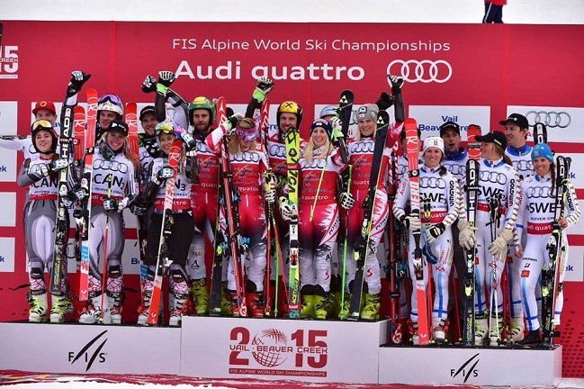 Avstrijci zanesljivo ubranili naslov svetovnih prvakov