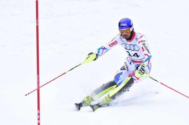 Grange po štirih letih spet slalomski svetovni prvak