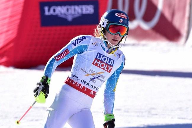 Mazejeva brez slalomskega odličja, Shiffrinovi zlato